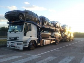 Transports International Cars. - Car Truck transporter